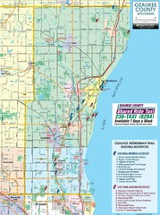Ozaukee County Interurban Trail Map