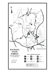 Pachaug State Forest map