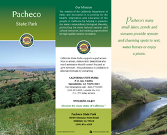 Pacheco State Park Map
