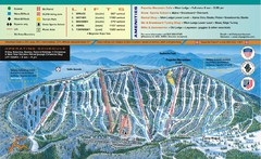 Pajarito Mountain Ski Trail Map