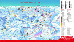 Pal Arinsal Ski Trail Map