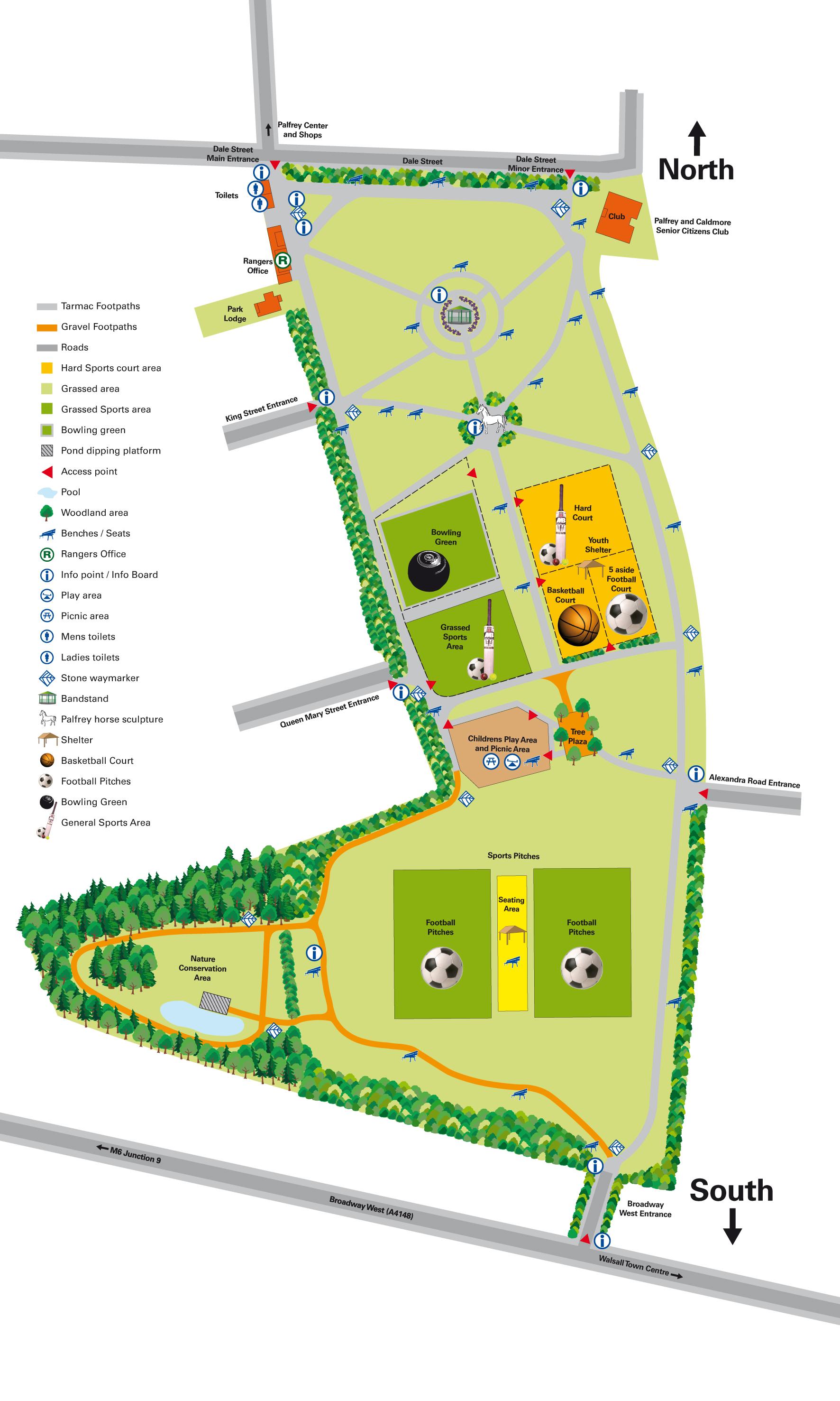 Palfrey Park Map Palfrey Park UK mappery