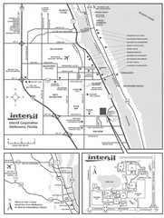 Palm Bay, Florida City Map