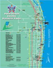 Palm Beach Tourist Map