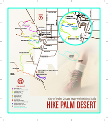 Palm Desert Hiking Trail Map