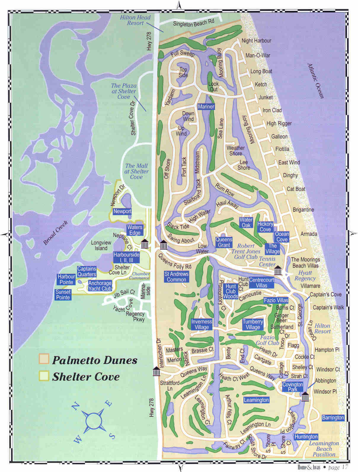 palmetto dunes map palmetto dunes mappery