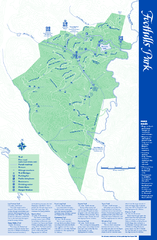 Palo Alto Foothills Park Map