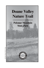 Palomar Mountain State Park Trail Map