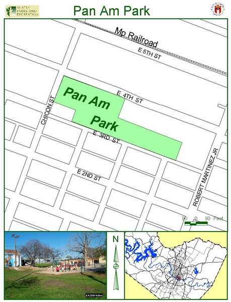 Pan Am Park Map