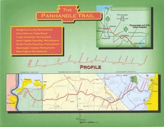 Panhandle Rail-Trail Map