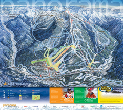 Panorama Mountain Village Ski Trail Map