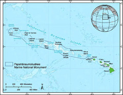 Papahanaumokuakea Marine National Monument Map