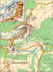 Pappenheim Map