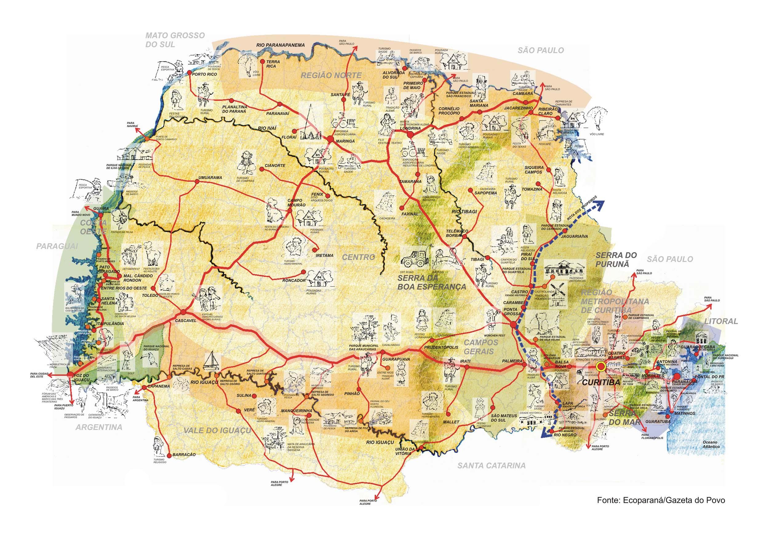 Para Campo Grande MS Guia Rodoviario Online – Mapas e #A43127 2500 1768