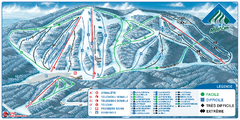 Parc du Mont-Comi Ski Trail Map