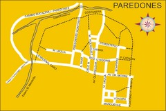 Paredones Map