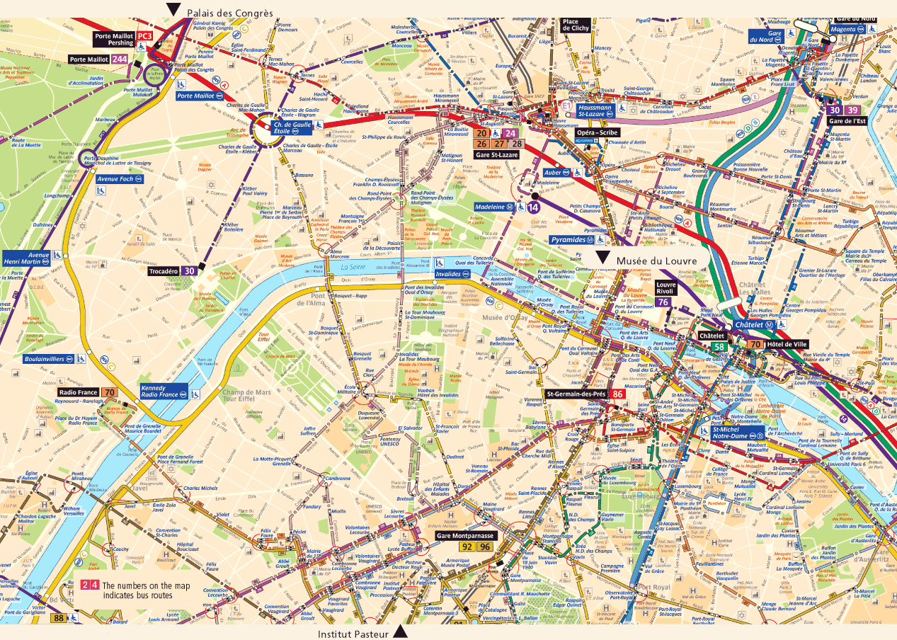 Paris City Map Paris France Mappery