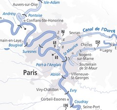 Paris Guide Map