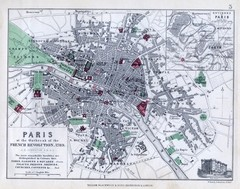 Paris Historical Map