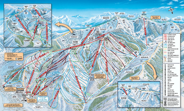Deer Valley Ski Trail Map Park City UT • mappery