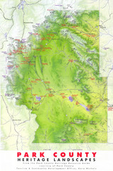 Park County Heritage Map