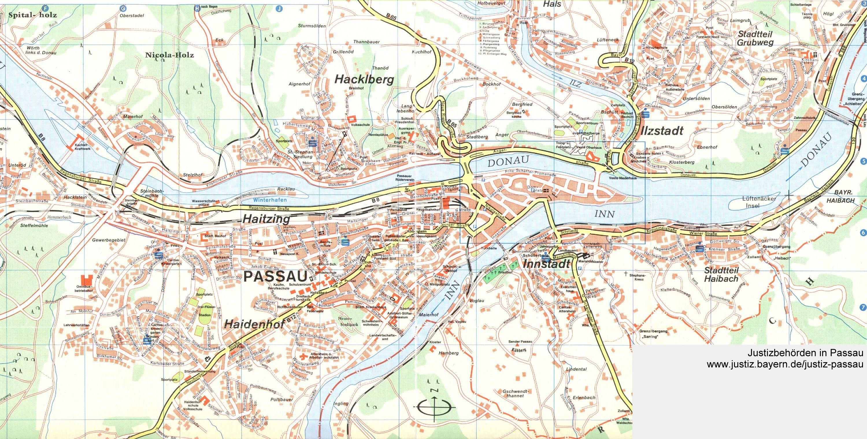 Passau Map   Passau Germany • mappery