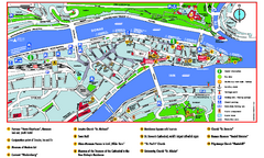 Passau Tourist Map