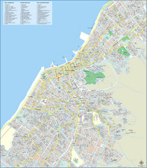 Patra Tourist Map