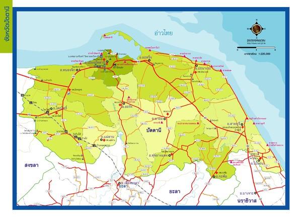 Pattani Thailand Map.Pattani Map Pattani Thailand Mappery