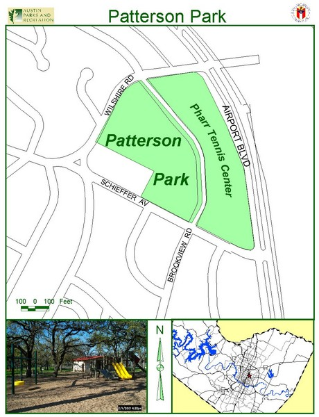 Patterson Park Map
