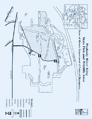 Peabody River King State Fish and Wildlife Area, Illinois Site Map