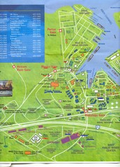 Pearl Harbor, Hawaii Tourist Map