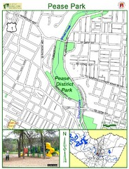 Pease Park Map