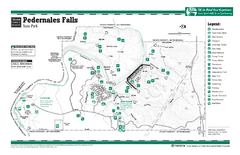 Pedernales Falls, Texas State Park Facility Map