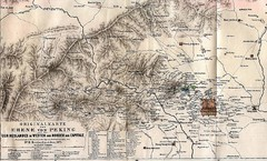Peking 1875 Map