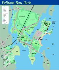 Pelham Bay Park NYC Map