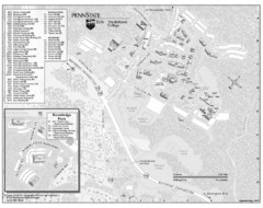 Penn State Erie Behrend College Campus Map