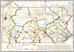 Pennsylvania Survey Map 1791