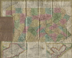 Pennsylvania Tourist Pocket Map