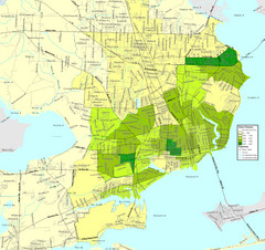 Pensacola, Florida City Map