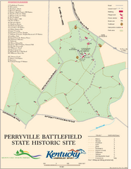 Perryville Battlefield State Historic Site Map
