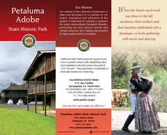 Petaluma Adobe State Historic Park Map