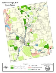 Peterborough Open Space Map