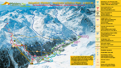 Pfelders Ski Trail Map