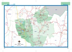 Phayao, Thailand Map
