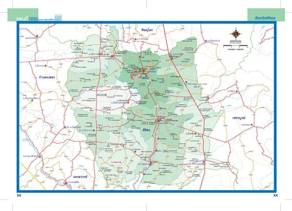 Phitsanulok Thailand Map.Phichit Map Phichit Thailand Mappery