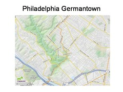 Philadelphia Germantown Map