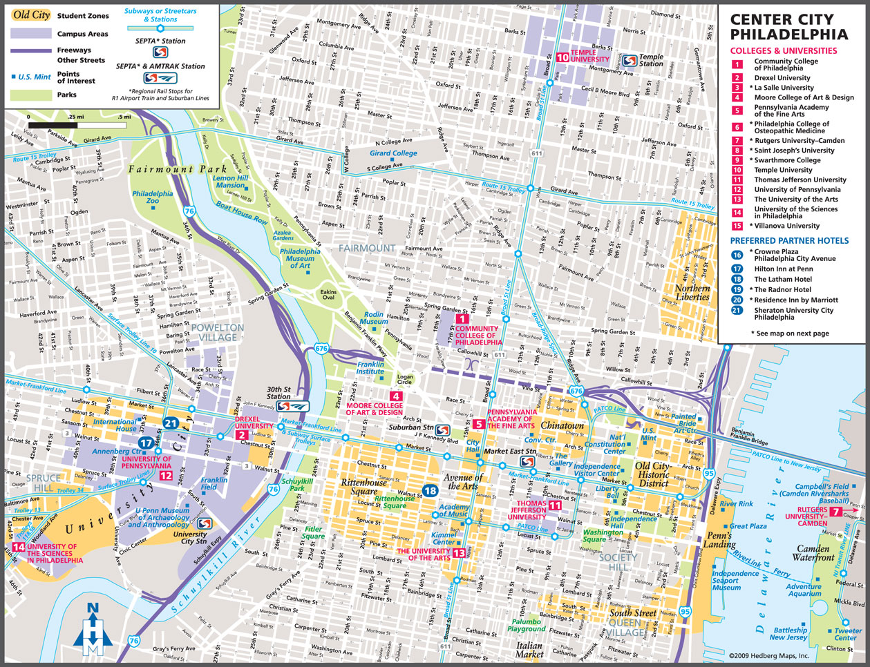 Philadelphia Tourist Map Philadelphia mappery – Tourist Map Philadelphia