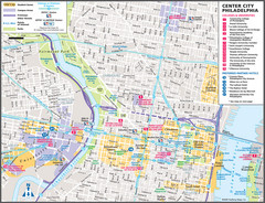 Philadelphia Tourist Map