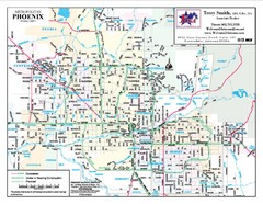 Phoenix, Arizona City Map